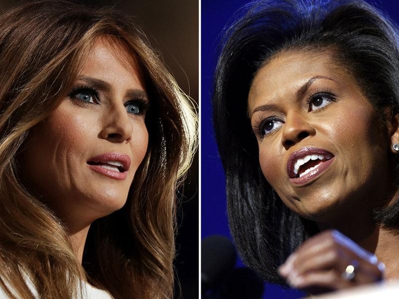 Melania Trump plagia discurso de Michelle Obama
